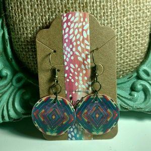 Jewelry - Handmade Geometric Earrings